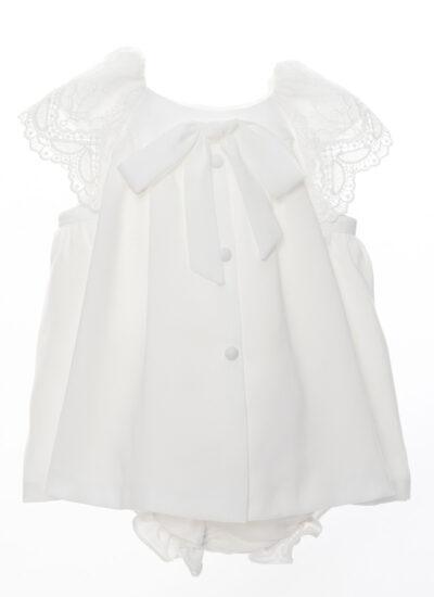mini vestido blanco