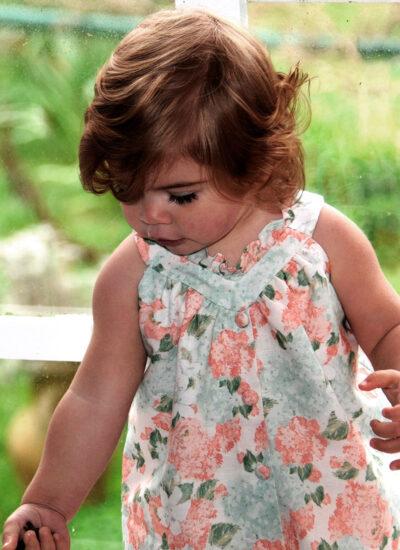 mini vestido garden